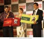 Madhuri, Sanjeev unveiled the DVD of Sanjeev Kapoor Kitchen
