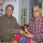 Senior Journliast Ashok mathur Honored