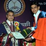 Gold Medal to M.Tech Power System Topper Mahendra Bhadu