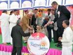 Brahmkumari's 75th platinum jubilee celebration began with lighting candles
