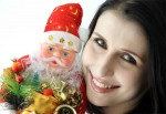 Balma Girl Claudia given best wishes on Christmas