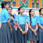 Girls Performing on 67th Independance at Nalanda Public School