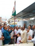 Flag Hoisting at Bikaner BJP office on 67th Independence Day