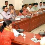 Bikaner DM Arti Dogra during a meeting held for Election Duties