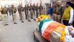 Freedom Fighter Jeevanl Lal daga died yesterday, Today He was cremated with state honors