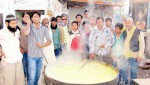Kheer Distribution in sweet memories of Hazrat Gos-E-Azam