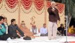Poet Rajaram Swarnkar at Kavi Sammelan held at Gajner, Bikaner