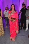 Hema Malini At Devhooti & Vikas Purohit reception