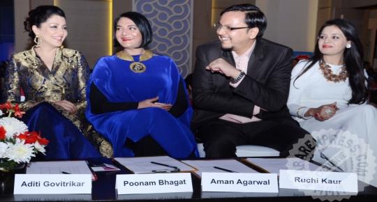 Aditi Govitrikar, Poonam Bhagat, Aman Agarwal and Ruchi Kaur