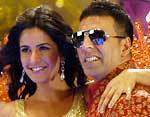 Akshay Kumar and Katrina Kaif in Movie De Dana Dan