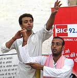 Big 92.7 celebrated World Population Day at Bikaner FM Station