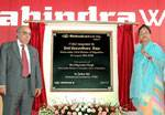 CM Launching Mahindra World City and BPO Office of the Infosys at Kalwada, Jaipur