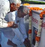 Tribute paid to Former MLA Late Bhimsen Chaudhary on the Death Anniversary