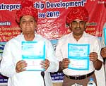 Guests at the ending ceremony of Faculty Development programe held at Engineering College Bikaner