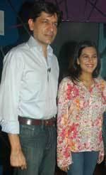 Geet Sethi & Shraddha in the Television Series, Khel Khel Mein