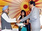 Excellence serivce award to Nagaur Collector Dr Samit Sharma