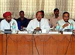 Dr B D Kalla addresses in Second Rajasthan Finance Commission Meeting held at CAD Hall, Bikaner