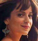 First Look of Actress Kangana Ranaut in her upcoming movie Katti Batti