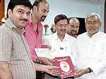 State Aids controller Committee certificate released to Bihar Prantiya Marwari Youva Manch