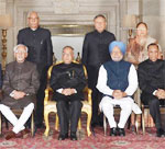 Governors Conference held at Rashtrapati Bhavan, in New Delhi