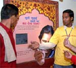 Youth shown interest in Red Ribbon Express to know more about AIDS