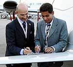 Now Taj Air will promote, distribute and service Piaggio Aero Aircraft