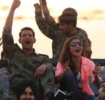 Pic of Doing Shooting War Chod na Yaar at Bikaner