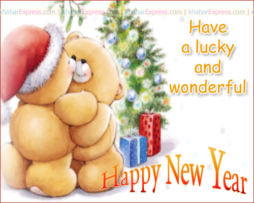have a lucky and wounderful New Year