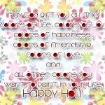 May God gift you all the  colors of life.....