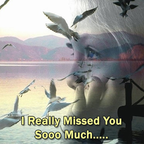 I Really Miss You so much