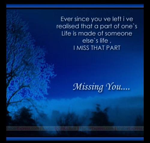 I Really Miss You