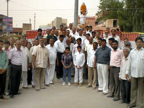 Tribute paid to Ex MLA Gokul Prasad Purohit