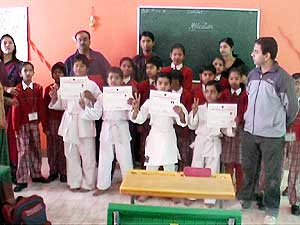 Blue Belt to Four students of Shree Jain Public School, Bikaner