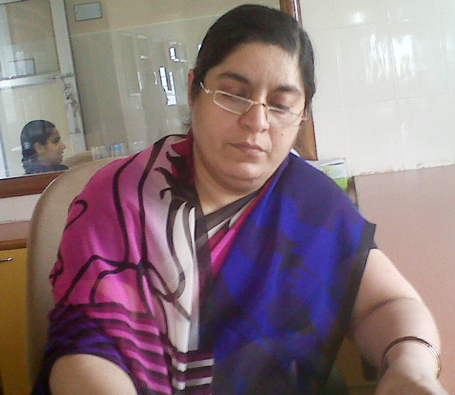 Mrs Seema  Purohit - Principal of S D P Memorial School Bikaner