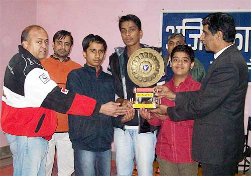 Ladji School, Udaipur won Ajit Foundation Chess Championship
