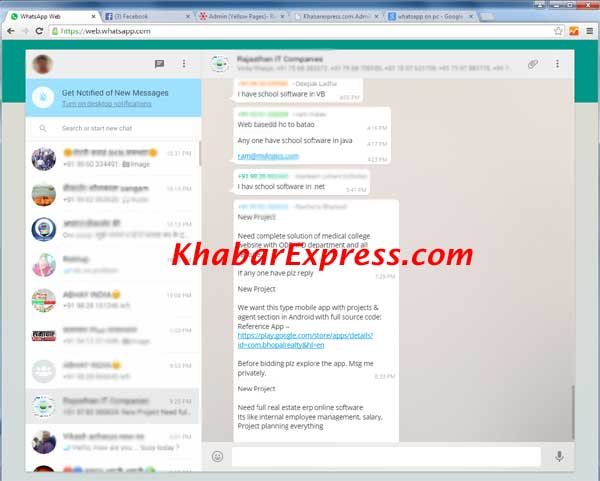 run whatsapp on PC