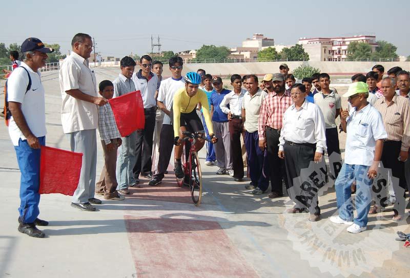 राजस्थान के साइकिल धावकों ने जमाया स्वर्ण पदक पर कब्जा