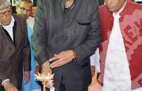 प्रभारी मंत्री ने किया विकास प्रदर्शनी का उद्घाटन