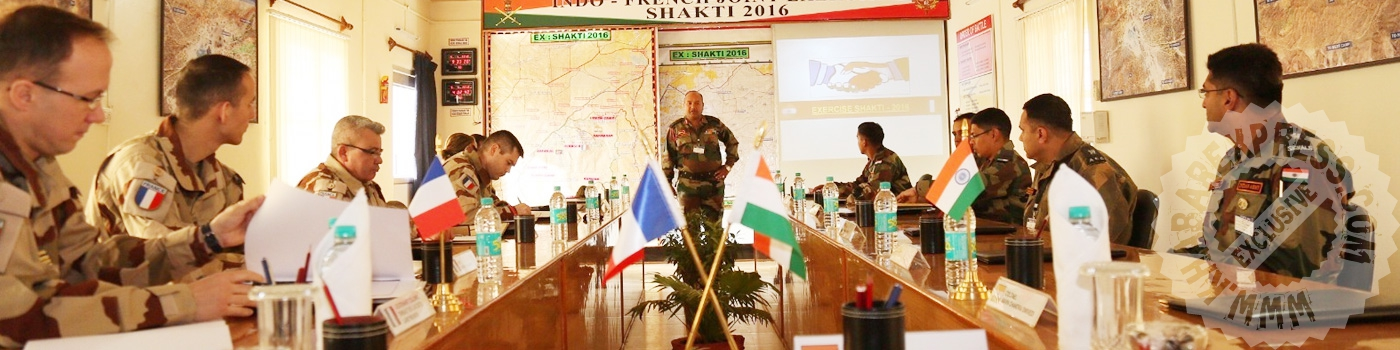 India- France army practice Shakti -2016  today