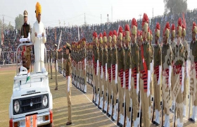 बहुरंगी संस्कुति से साकार हुआ गणतंत्र दिवस का समारोह