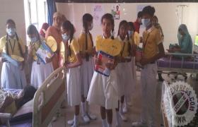 बच�चों ने डेंगू के खिलाफ छेडा अभियान