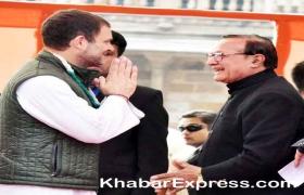 राहुल गांधी ने पूरी गर्मजोशी से की डाॅ. कल्ला से मुलाकात