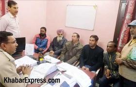 पत्रकार के साथ हुए दुव्र्यवहार को लेकर पूरे जिले के पत्रकार हुए लामबंद