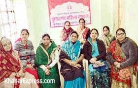 पुष्करणा महिला मंडल की पुष्करणा सावे हेतु बैठक  आयोजित