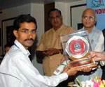 Bhartiya Vikas Ratan Award to Rishi Acharya