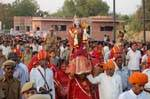 Gangaur (Gavarja) with royal group during Journey from Jungarh fort to Chautina Well at Bikaner