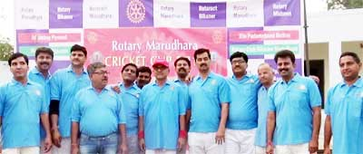 team of Rotary Club Bikaner