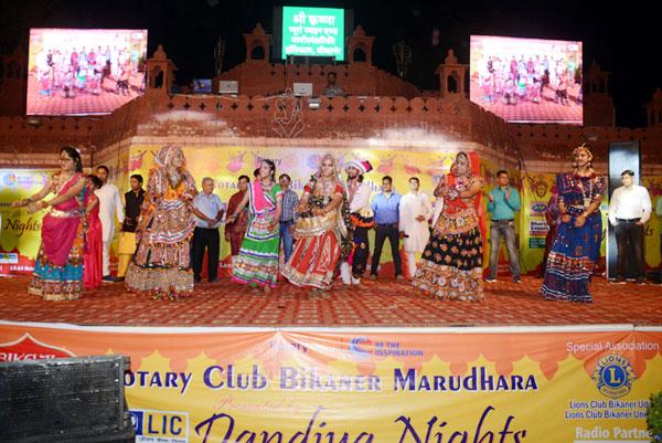 LIC Dandiya Nights in Lakshmi Heritage, Bikaner
