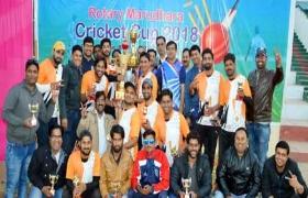 रोटैक्ट क्लब मरुधरा ने जीता रोटरी मरुधरा क्रिकेट कप